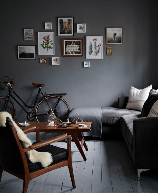 Use Dark Color in your interior design