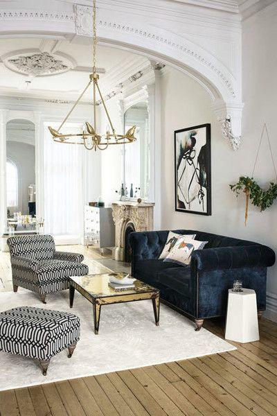 Make use of Velvet in your interior design