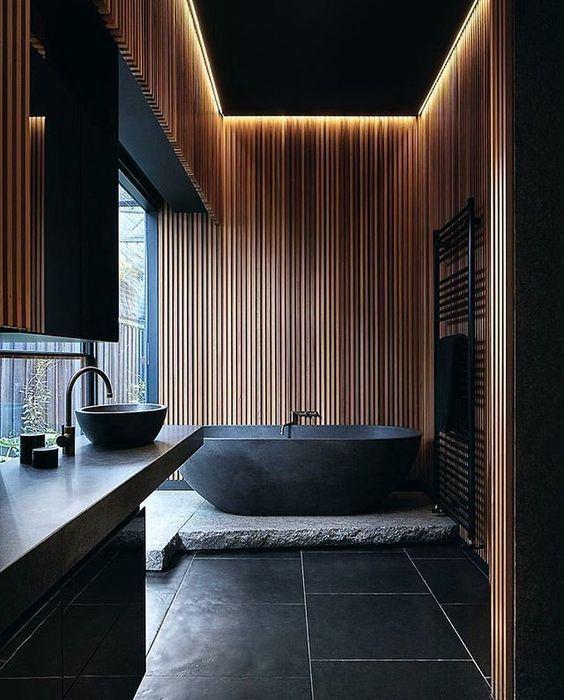 Matt-Black design for your bathroom