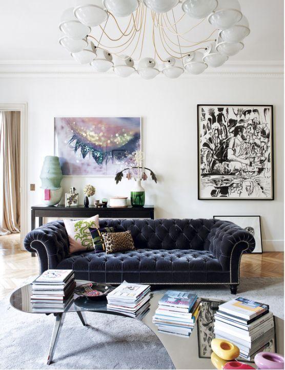 Velvet furnitures