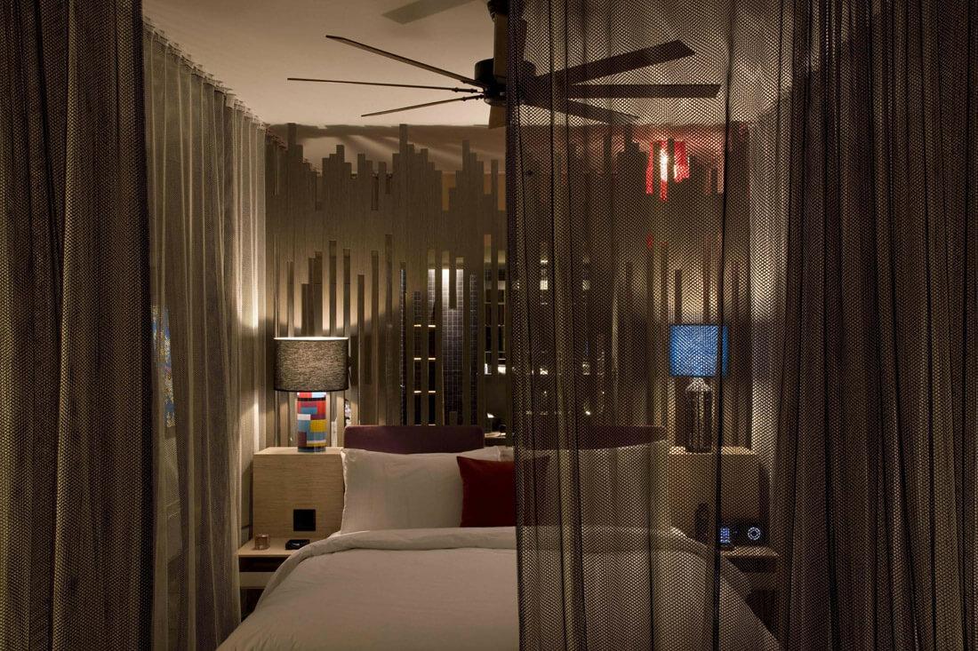 'W Retreat & Spa in Puerto Rico' modern bedroom design